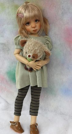 Lenny is the new Ball Jointed Doll by Kaye Wiggs