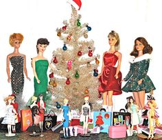 A Barbie Christmas!!