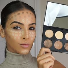 Dot contouring and highlighting pretty