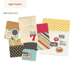 Sn@p simple stories 24/seven POCKETS - 3x4 and 4x6.