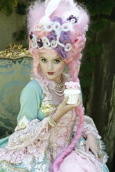 Marie Antoinette-inspired fashion photography by Australia-based Wildberry Studio & Design and Rhondda Scott Photography.
