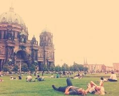 next time I'm in Berlin, definitely taking time to picnic in front of the Dom
