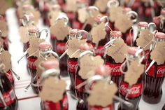 vintage coke bottle escort cards