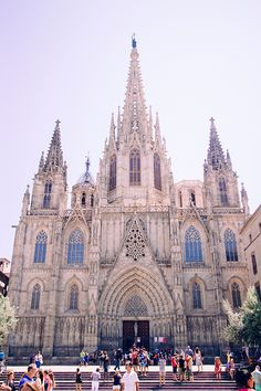 Barcelona Church Travelling Spain
