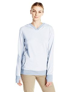 Columbia Women's Inner Essence Hoodie, Medium, Cirrus Grey
