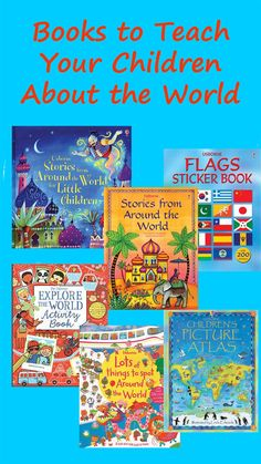 Books That Teach Children About the World (from Multicultural Kid Blogs)