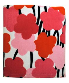 Look what I found on #zulily! Pink Modern Grace Floral Bath Towel by Bardwil Home #zulilyfinds
