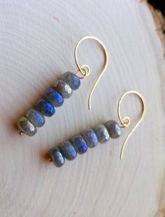 Labradorite Dangler Earrings