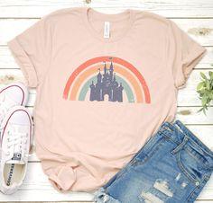 Disney / Cinderella Castle /Magic Kingdom/ Mouse / Disney World / Disneyland / Mickey / Minnie / T-Shirt / T Shirt / Tee Shirt / Sublimation Disney World Outfits, Cute Disney Outfits, Disney Inspired Outfits, Disney Style, Cute Outfits, Disney Fashion, Disney Clothes, Disneyland Outfits, Emo Fashion