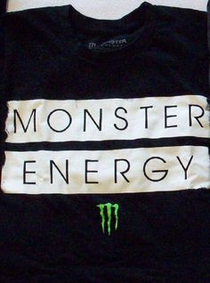New Release Limited Monster Energy Drink Size L Mens T-Shirt New Sealed Package…
