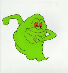 19 Best Slimer Images The Real Ghostbusters Animation Cel Cartoons