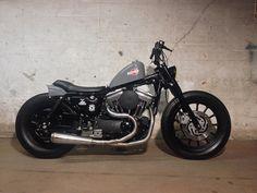 MOD moto Harley Sportster 1200 Brat