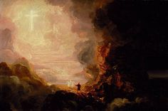 """The Pilgrim of the Cross at the End of His Journey"" by Thomas Cole, c. 1846-1848"