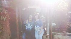 Found my lost twin in the Hidden Garden, Vigan, Ilocos Sur