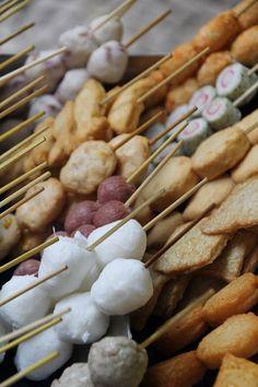 Brochettes vendues dans la rue #macao #food