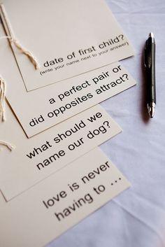 Libros de firmas originales con preguntas