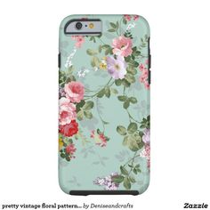 pretty vintage floral pattern iphone6 case