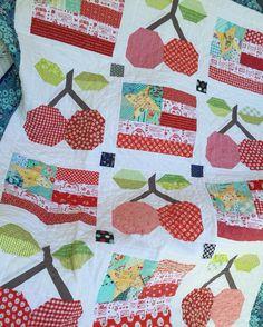 Cherries & Flags