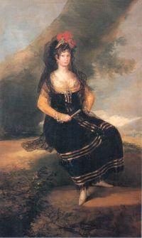 Francisco de Goya. Retrato de la Condesa de Fernán Núñez. c 1803. Colección privada
