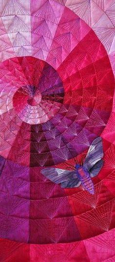 Scarlet Moth, serie Monochrom - by Barbara Lange, Germany. See http://www.barbaralange.com/index.php/en/gallery.html