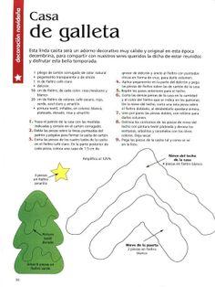 1 of 3 moldes de fieltro (pág. 63) | Aprender manualidades es facilisimo.com