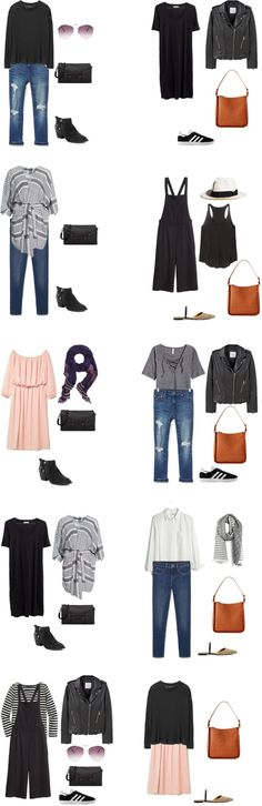 What to Wear in Italy and France Outfit Options 11-20 #travellight…