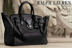 I have fallen in <3 with the Soft Ricky Bag ~ Ralph Lauren | 1966 Magazine