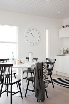 black chairs | kitchen