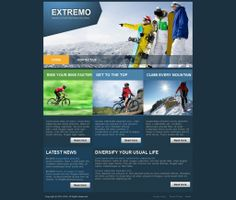 Extremo - Like this design? Have it customized with your logo and content! - JoomlaNinja.in