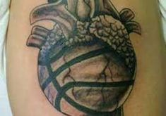 Basketball Tattoos |InkDoneRight  The National Basketball Association is one of the most heavily viewed and loved group of people in America. Basketball Tattoos are a great way to show...