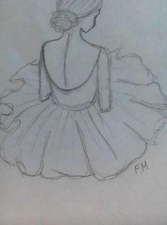# Best Picture For Dancing Drawings cute For Your Tas Art Drawings Sketches Simple, Girl Drawing Sketches, Girly Drawings, Pencil Art Drawings, Disney Drawings, Drawing Disney, Ballet Drawings, Dancing Drawings, Arte Sketchbook