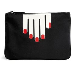 Lulu Guinness Hands Clutch Bag found on Polyvore