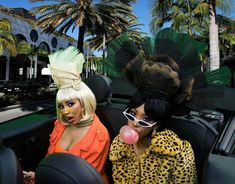 Doja Cat and Rico Nasty - Tia Tamera Cat Aesthetic, Aesthetic Photo, Black Girls Rock, Black Girl Magic, Snoop Dogg, Doja Cat, Cats, Pretty People, Beautiful People