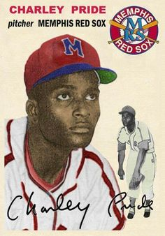Today we are honoring member Charley Pride . At age sixteen, Pride left home to play professional baseball in the Negro American League. This early baseball card shows Charley as pitcher for the Memphis Red Sox American Baseball League, Negro League Baseball, Minor League Baseball, Baseball Players, American League, Major League, Fsu Baseball Schedule, Baseball Equipment, Baseball Photos