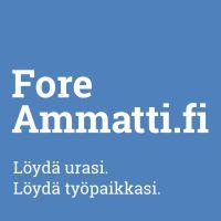 ForeAmmatti - palvelulla voi  tarkastella eri ammattivaihtoehtoja  työllistymismahdollisuuksiensa parantamiseksi.