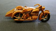 Harley Davidson Motorcycle Side Car Matchbox No. 66 by ChainDrive, $65.00