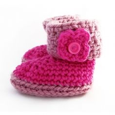 These cute little pink baby booties are full of warmth and love. Ideal for keeping small exploring feet warm. Crochet Baby Booties, Crochet Hats, Baby Feet, Baby Accessories, South Africa, Badge, Pink, Warm, Winter