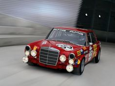 Behold The Amazing Forgotten Mercedes 500 SL Rally Car