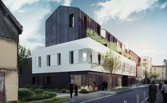 NZI Architectes — 31 Logements Locaux d'activités et commerces ...