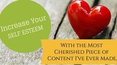 Increase your self esteem. Self Esteem, Women Empowerment, Personal Development, Blogging, Spirituality, Health Fitness, Journey, Content, Popular
