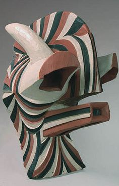 African Masks - Classic Songye Kifwebe mask from Congo