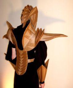 Beastly Ribs: Cardboard Armor