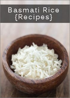 Trying various Basmati rice recipes, I just love the taste of this rice !!!