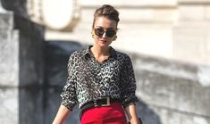 Walk on the Wild Leopard Print Side - TrendSurvivor Leopard Kitten, Leopard Shirt, Charlotte Olympia, Walk On, Outfit Posts, New Outfits, Fashion Photo, Plaid, Street Style