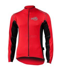 Rozpinana bluza termoaktywna - http://www.mikesport.pl/mimo-castor-bluza-rowerowa-czerwona.html