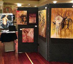 DIY art display panels