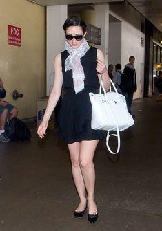 Emmy Rossum Little Black Dress