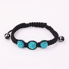 Lemon braceletmint blue braceletLemon shamballa by Youchic on Etsy, $5.60