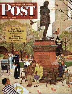 Schaeffer, Mead- Saturday Evening Post- April 1945