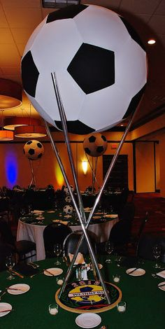 Healthy living at home devero login account access account Football Centerpieces, Bar Mitzvah Centerpieces, Banquet Centerpieces, Centrepieces, Soccer Theme Parties, Soccer Party, Party Themes, Soccer Wedding, Party Ideas